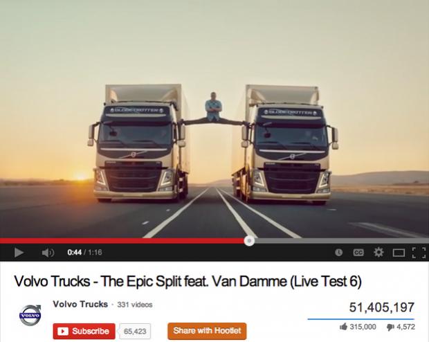 Volvo JCVD video ad